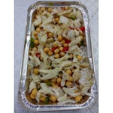 Salada de Grão e Bacalhau
